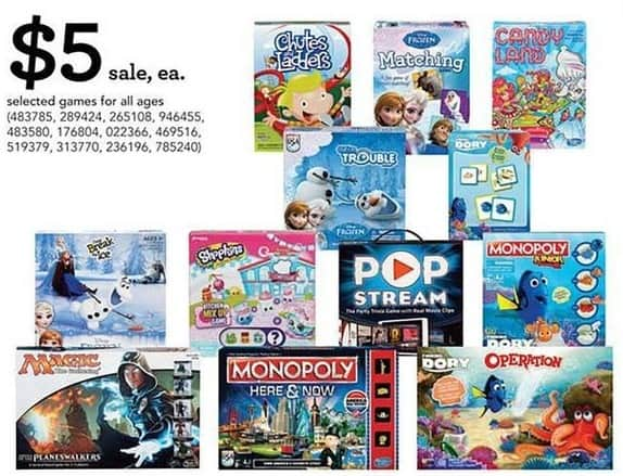 Toys R Us Black Friday Select Board Games Break The Ice Operation