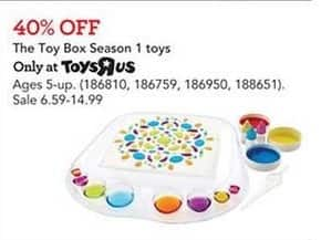 Toys R Us Black Friday: The Toy Box Season 1 Toys - 40% Off