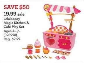 Toys R Us Black Friday: Lalaoopsy Magic Kitchen & Cafe Play Set for $19.99