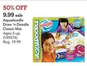 Toys R Us Black Friday: Aquadoodle Draw n Doodle Classic Mat for $9.99