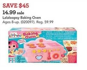 Toys R Us Black Friday: Lalaoopsy Baking Oven for $14.99