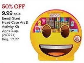 Toys R Us Black Friday: Emoji Giant Head Case Art & Activity Kit for $9.99