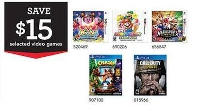 Toys R Us Black Friday: Select Nintendo 3DS Games: Kirby, Call of Duty, Mario Sports and More - $15 Off