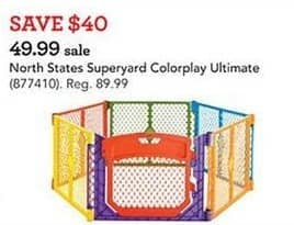 Toys R Us Black Friday: North States Superyard Colorplay Ultimate for $49.99