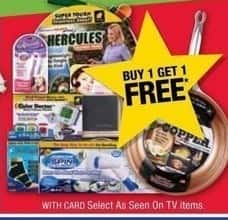 CVS Black Friday: Select As Seen on TV Items - B1G1 Free