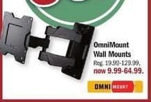 Meijer Black Friday: OmniMount Wall Mounts for $9.99 - $64.99