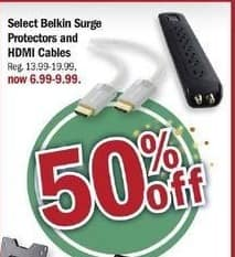 Meijer Black Friday: Select Belkin Surge Protectors and HDMI Cables for $6.99 - $9.99