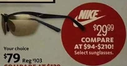 AAFES Cyber Monday: Select Nike Sunglasses for $29.99