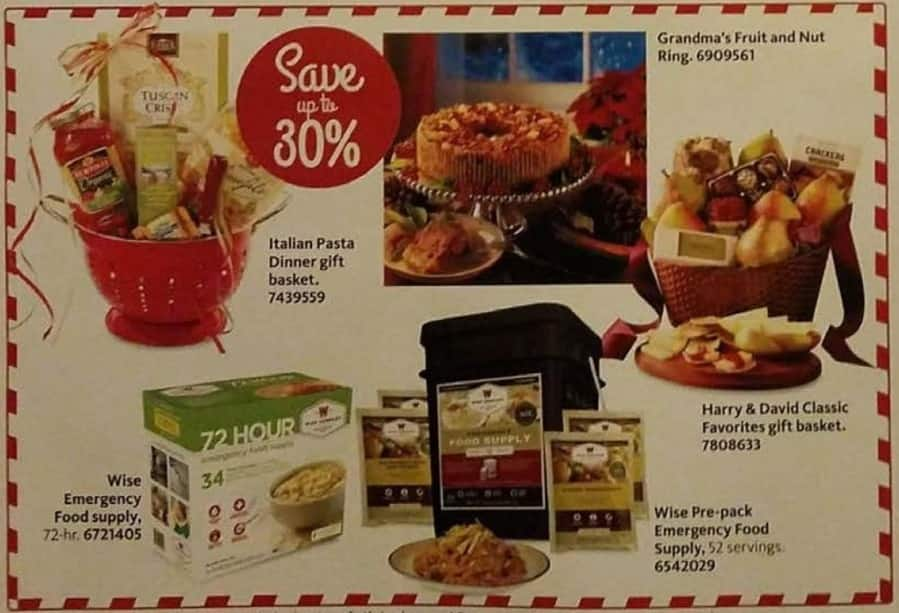 AAFES Cyber Monday: Select Gift Baskets: Italian Pasta Dinner, Harry & David and More - Up to 30%