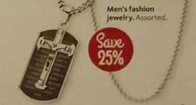 AAFES Cyber Monday: Select Men's Fashion Jewelry - 25% Off