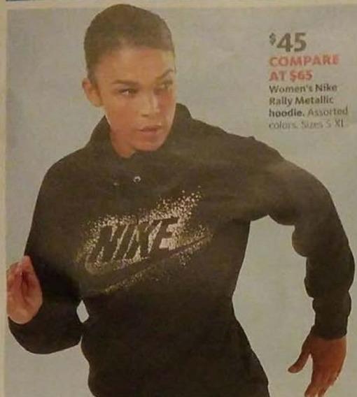AAFES Cyber Monday: Nike Women's Rally Metallic Hoodie for $45.00