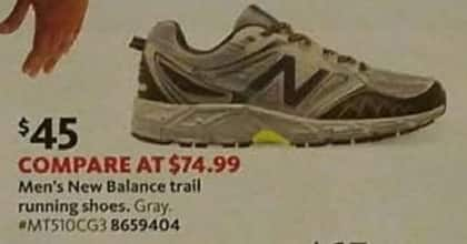 AAFES Cyber Monday: New Balance Men's Trail Running Shoes for $45.00