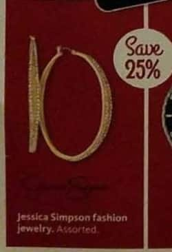 AAFES Cyber Monday: Select Jessica Simpson Fashion Jewelry - 25% Off