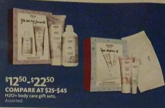 AAFES Cyber Monday: H2O+ Body Care Gift Sets for $12.50 - $22.50