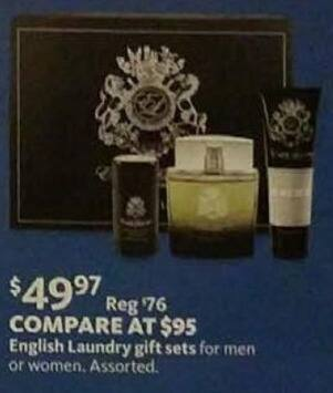 AAFES Cyber Monday: Men's or Women's English Laundry Gift Sets for $49.97