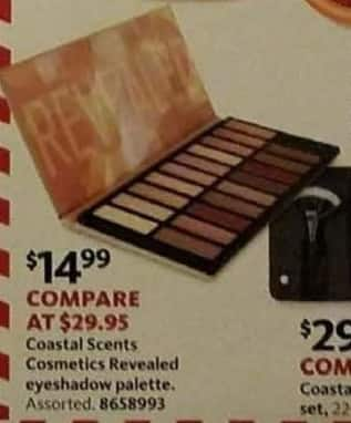 AAFES Cyber Monday: Select Coastal Scents Cosmetics Revealed Eyeshadow Palette for $14.99