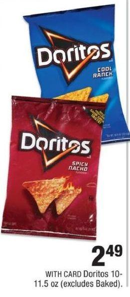 CVS Black Friday: Doritos 10-11.5oz. for $2.49