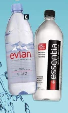 CVS Black Friday: (2) Select Water: Evian, Essentia, San Pellegrino and More for $4.00