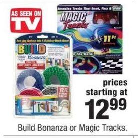 CVS Black Friday: Build Bonanza or Magic Tracks for $12.99