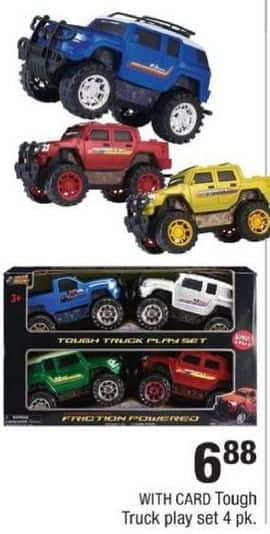 CVS Black Friday: Tough Truck Play Set for $6.88
