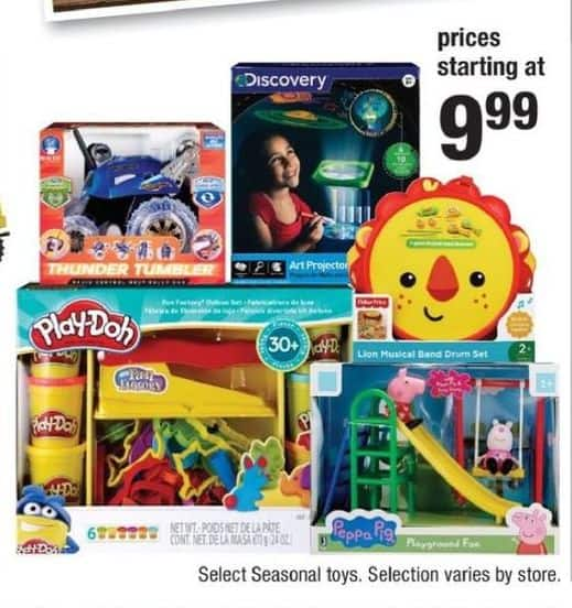CVS Black Friday: Select Toys: Play-Doh, Peppa Pig and More for $9.99