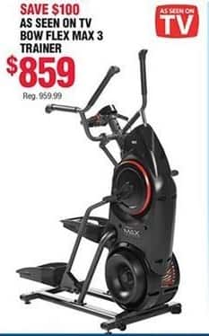 Navy Exchange Black Friday: Bow Flex Max 3 Trainer Fitness Machine for $859.00