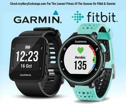 Navy Exchange Black Friday: Select Garmin and Fitbit Products - On Sale