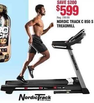 Navy Exchange Black Friday: Nordic Track C 850 S Treadmill for $599.00