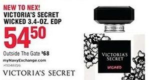 Navy Exchange Black Friday: Victoria's Secret Wicket 3.4 oz. EDP for $54.50
