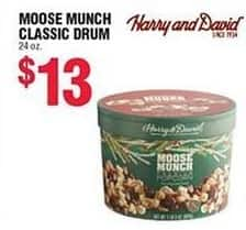 Navy Exchange Black Friday: Harry and David Moose Munch Classic Drum for $13.00