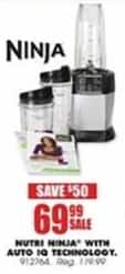 Blains Farm Fleet Black Friday: Nutri Ninja w/Auto IQ Technology for $69.99