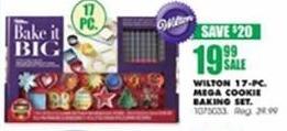 Blains Farm Fleet Black Friday: Wilton 17-Piece Mega Cookie Baking Set for $19.99