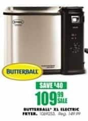 Blains Farm Fleet Black Friday: Butterball XL Electric Fryer for $109.99