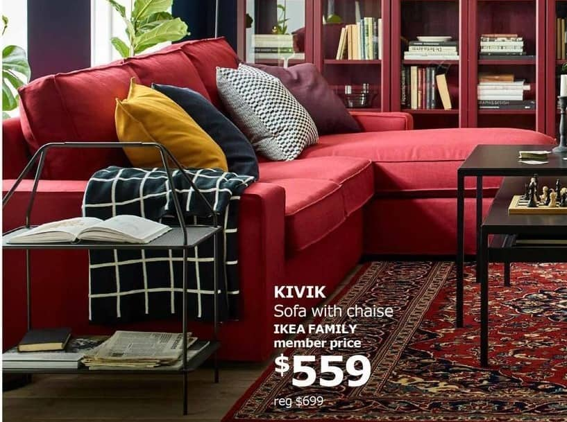 Black Ikea FridayKivik Chaise 00 With Sofa For559 6gyvbYf7