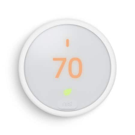 Nest Thermostat E Google Home Mini Bundle $129 YMMV B&M