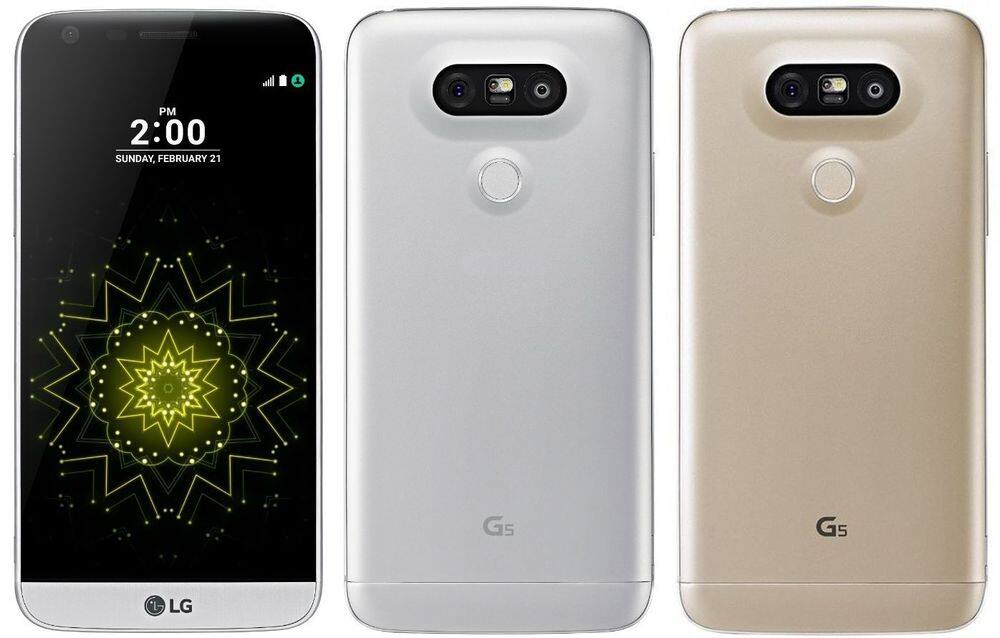 Unlocked LG G5 H830T 32GB T-Mobile 4G LTE Android Smartphone (New other) Silver & Gold $159.99 + Free Shipping