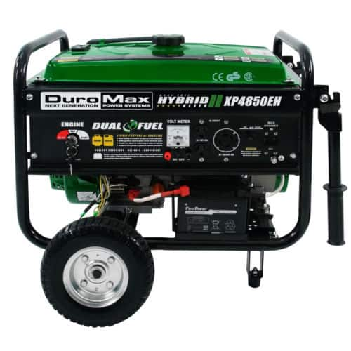 Duromax xp4850eh hybrid propanegas powered start generator page deal image fandeluxe Choice Image