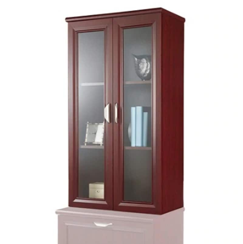 Realspace® Office Furniture - 2-Shelf Hutch For Lateral File Cabinet - FREE SHIPPING $19.99