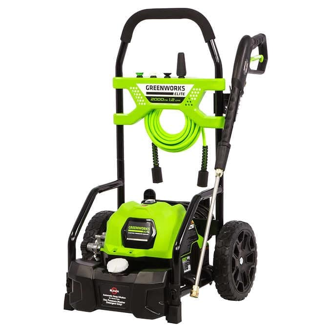 Greenworks 2000psi Pressure Washer $149.99 at Costco