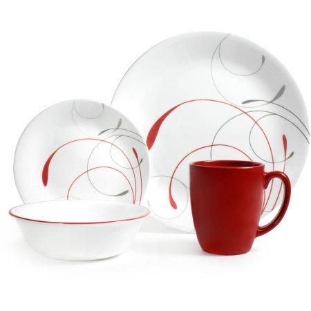 Deal Image  sc 1 st  Slickdeals & 16-Piece Corelle Livingware Dinnerware Set (Splendor Coupe ...
