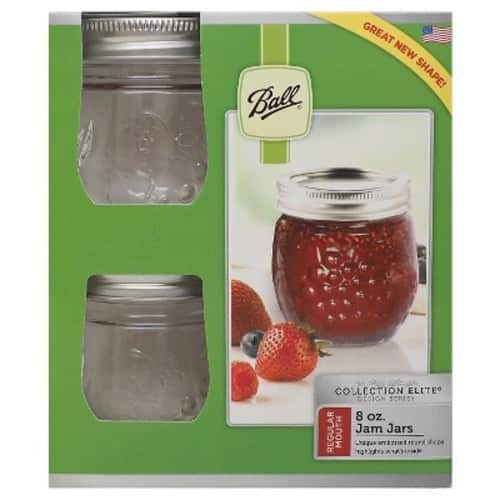 Ball® 8 Ounce Regular Mouth Jelly Pot Jars $4.11