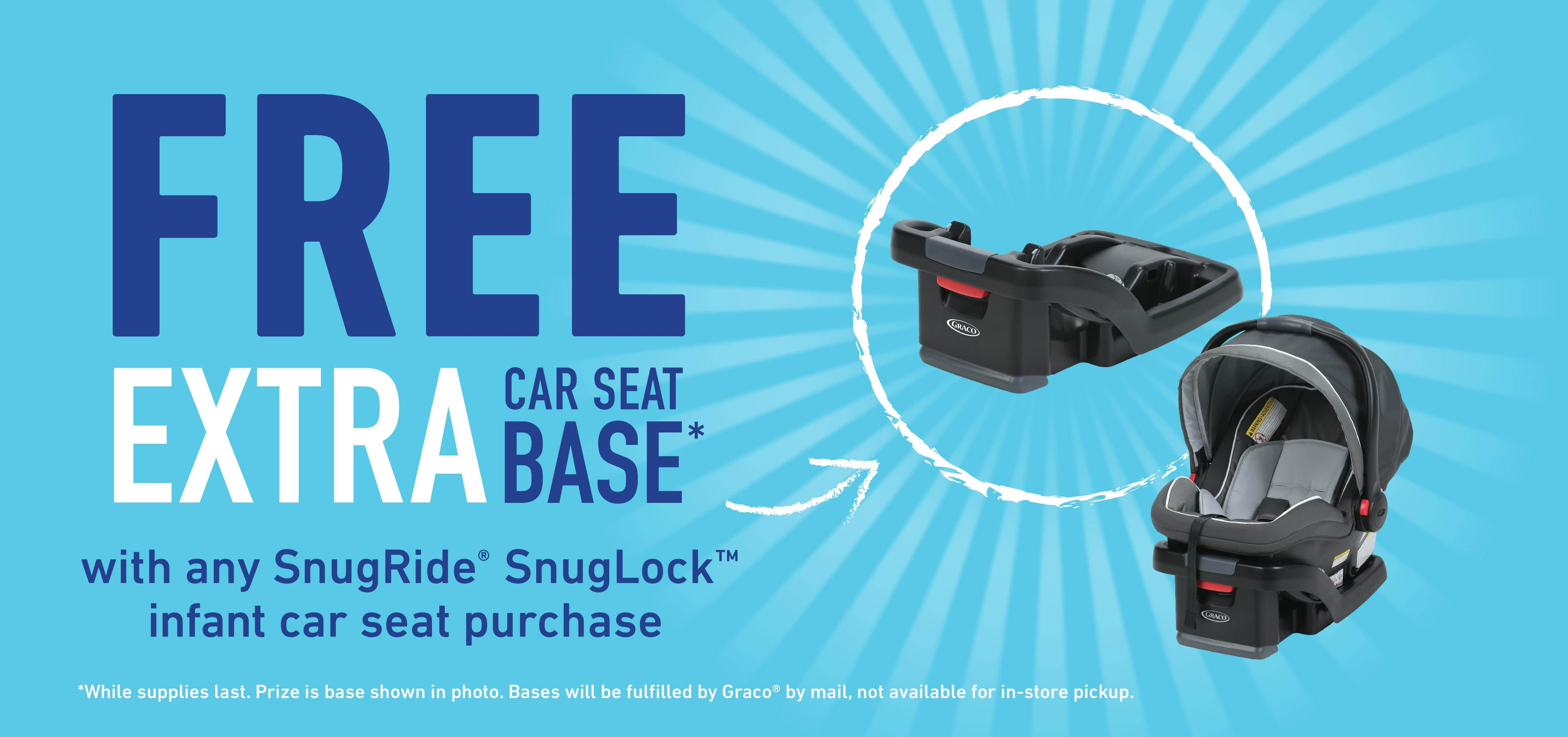 Graco Free Extra Car Seat Base With A Qualifying Purchase