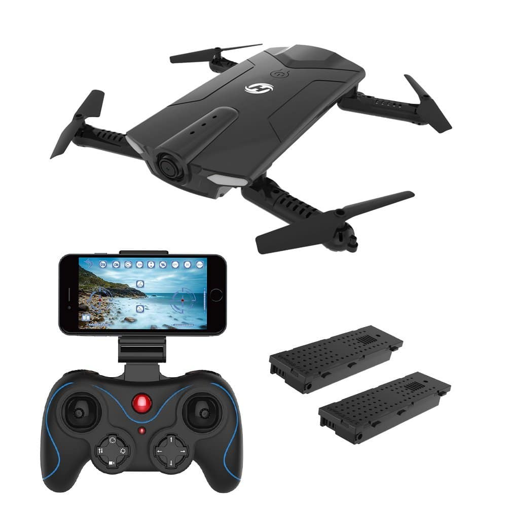 Amazon- $59.99 Holy Stone HS160 Shadow FPV RC Drone with 720P HD Camera