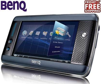 """BenQ S6 Tablet PC with 4.8"""" Touchscreen, Wi-Fi, MicroSD Slot and Windows XP $60"""