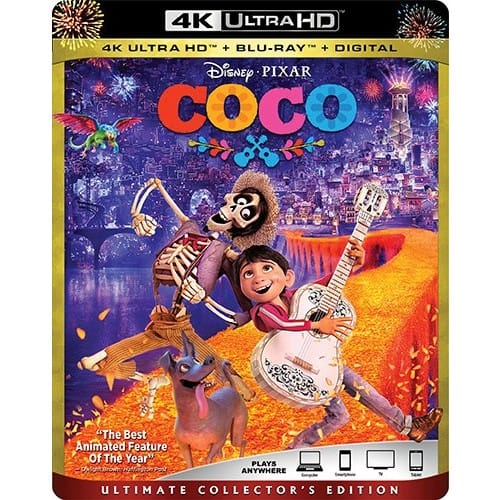 Amazon - Coco 4k/Blu-Ray/Digital (Disney) - $24.99 (OOS but can still order)