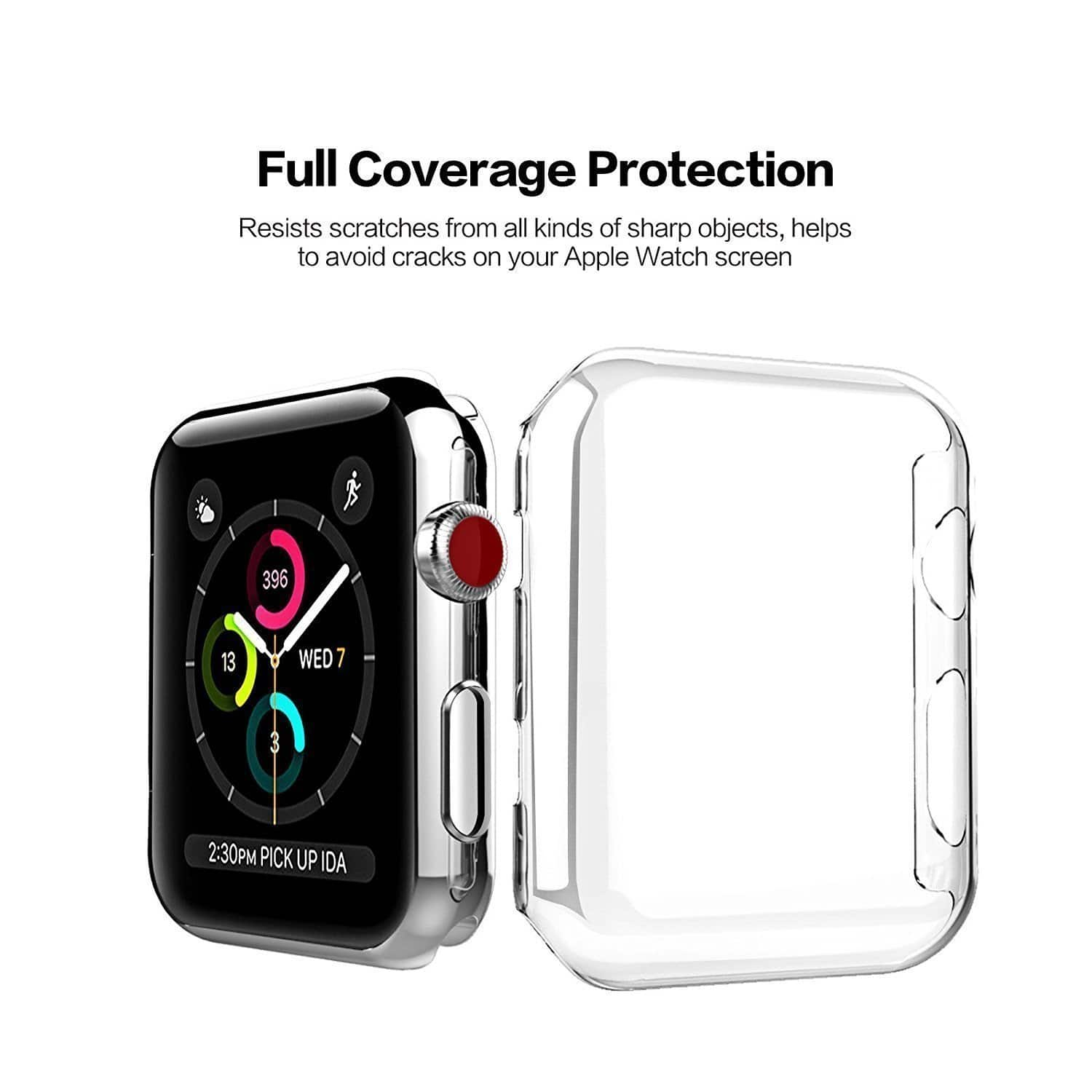 sale retailer 11cee 5d50f $3.15 urlhasbeenblocked Simple Clear PC Case for Apple Watch Series ...