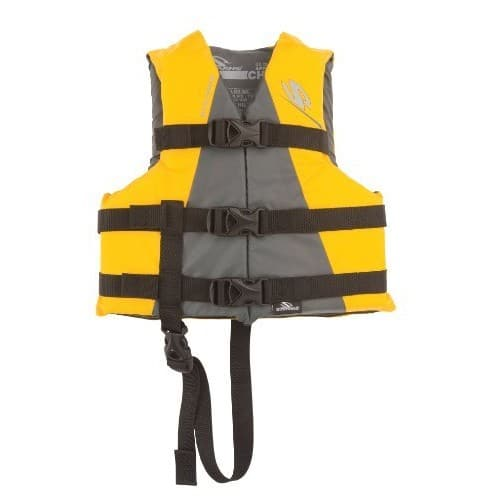 Stearns Child Watersport Classic Series Vest / Life Jacket [Yellow]- 30-50 pounds $8.71