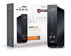$30 OFF: ARRIS SURFboard SBG7580AC-McAfee DOCSIS 3.0 Cable Modem / AC1750 Wi-Fi Router with FREE Secure Home Internet by McAfee $169.99
