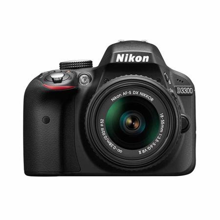 Nikon D3300 Digital SLR with 24.2 Megapixels and 18-55mm Lens Included $199 [Walmart] YMMV