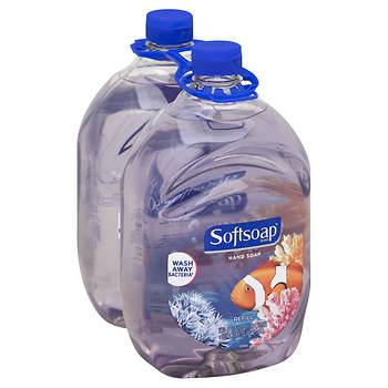BJ's Wholesale Members: Softsoap Liquid Hand Soap Refill, Aquarium Series, 2 pk./64 oz. $7.99